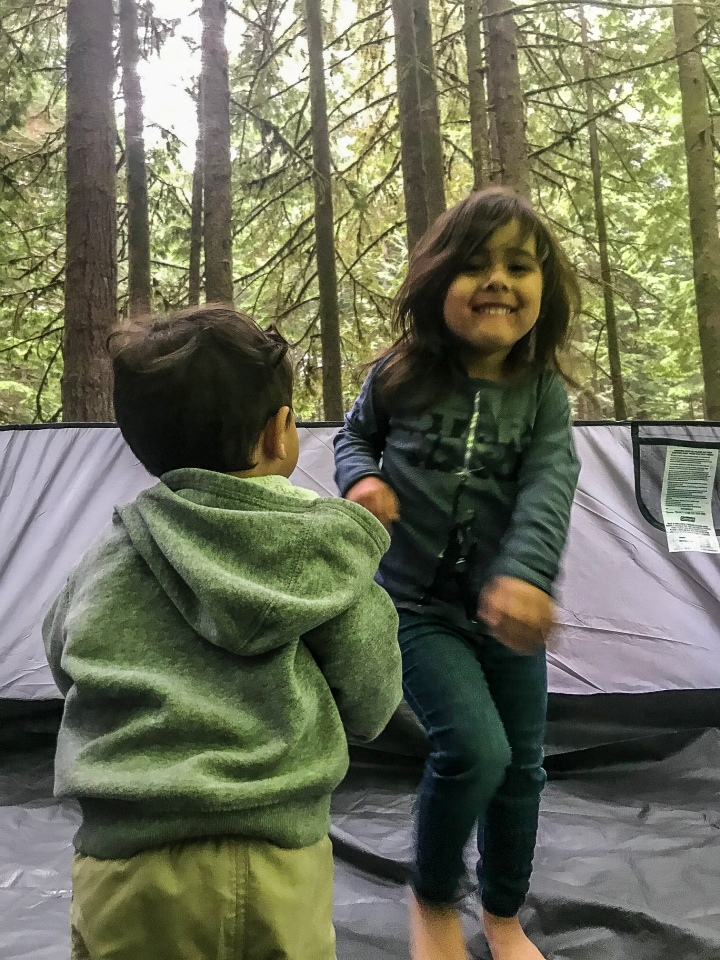 Tips for camping withkids