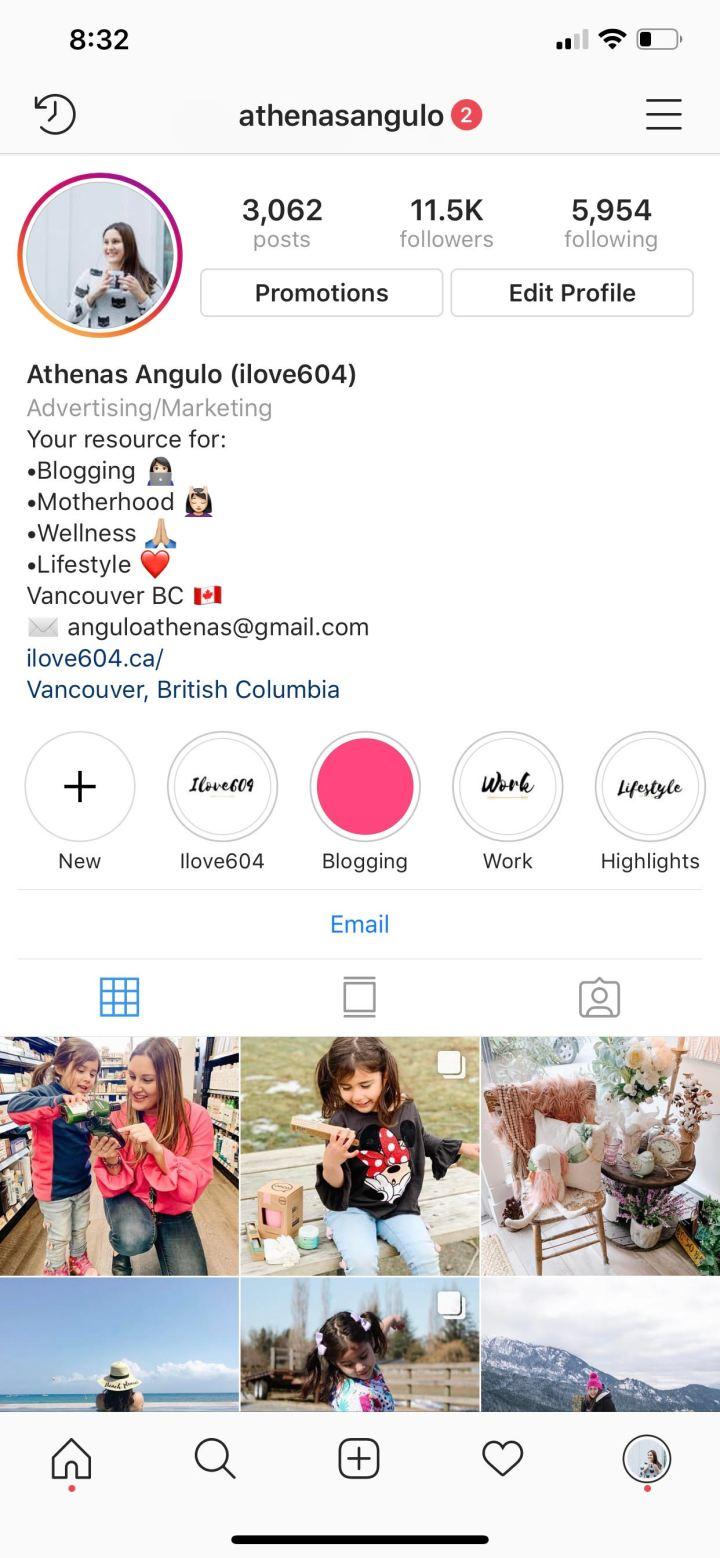 instagram influencer vancouver